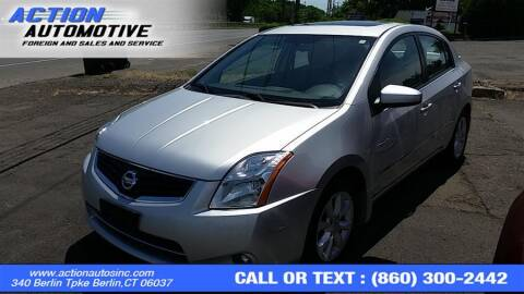 2011 Nissan Sentra for sale at Action Automotive Inc in Berlin CT