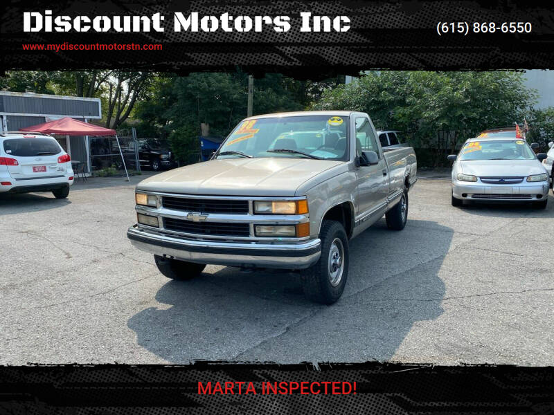 1998 Chevrolet C/K 1500 Series for sale at Discount Motors Inc in Madison TN