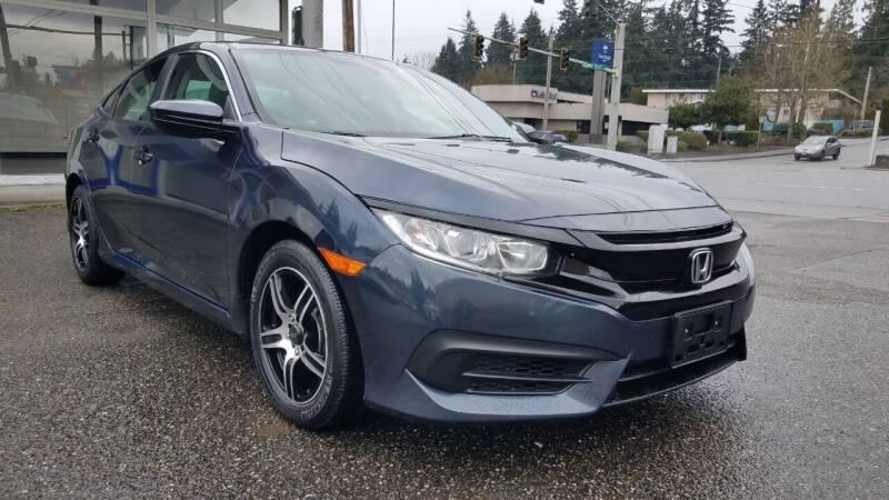 2016 Honda Civic for sale at Seattle's Auto Deals in Everett WA