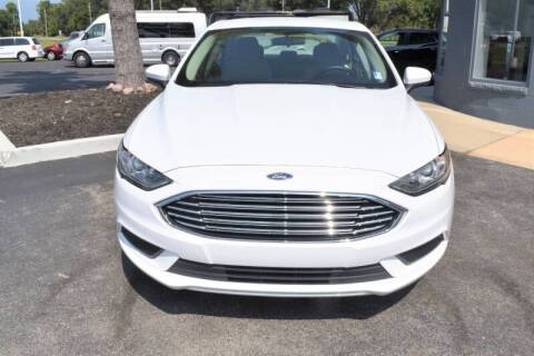 2018 Ford Fusion for sale at Heritage Automotive Sales in Columbus in Columbus IN