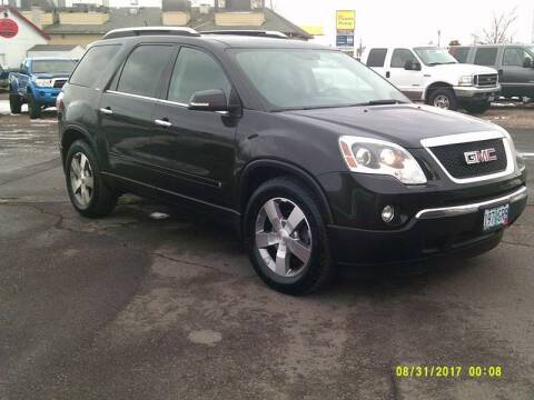 2009 GMC Acadia for sale at Miller's Economy Auto in Redmond OR