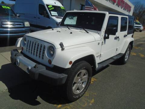 2010 Jeep Wrangler Unlimited for sale at Island Auto Buyers in West Babylon NY