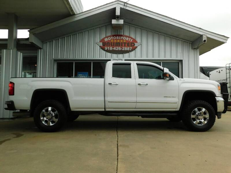 2015 GMC Sierra 3500HD for sale at Motorsports Unlimited in McAlester OK