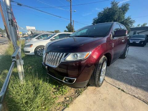 2011 Lincoln MKX for sale at S & J Auto Group in San Antonio TX