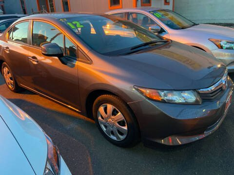 2012 Honda Civic for sale at TOP SHELF AUTOMOTIVE in Newark NJ
