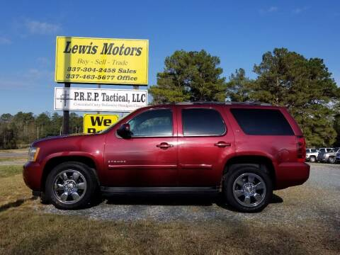 2008 Chevrolet Tahoe for sale at Lewis Motors LLC in Deridder LA