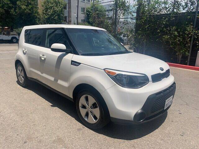 2016 Kia Soul for sale at FJ Auto Sales North Hollywood in North Hollywood CA