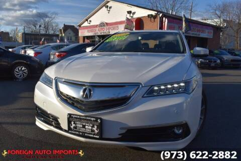2017 Acura TLX for sale at www.onlycarsnj.net in Irvington NJ