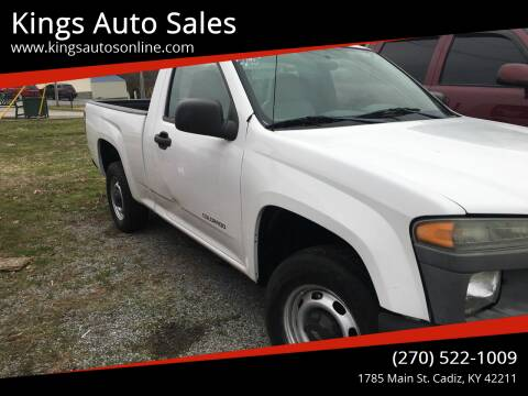 2004 Chevrolet Colorado for sale at Kings Auto Sales in Cadiz KY