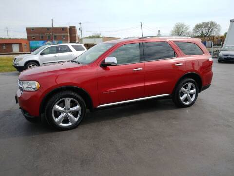 2011 Dodge Durango for sale at Big Boys Auto Sales in Russellville KY
