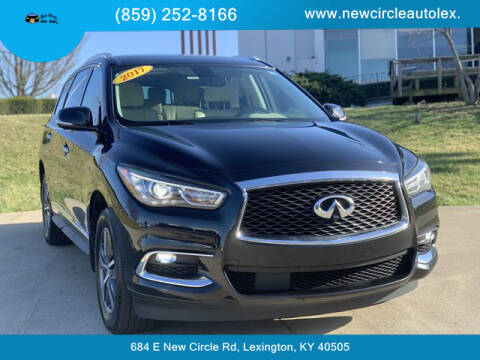 2017 Infiniti QX60 for sale at New Circle Auto Sales LLC in Lexington KY