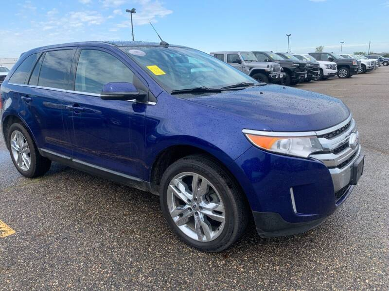 2013 Ford Edge for sale at TRUCK & AUTO SALVAGE in Valley City ND