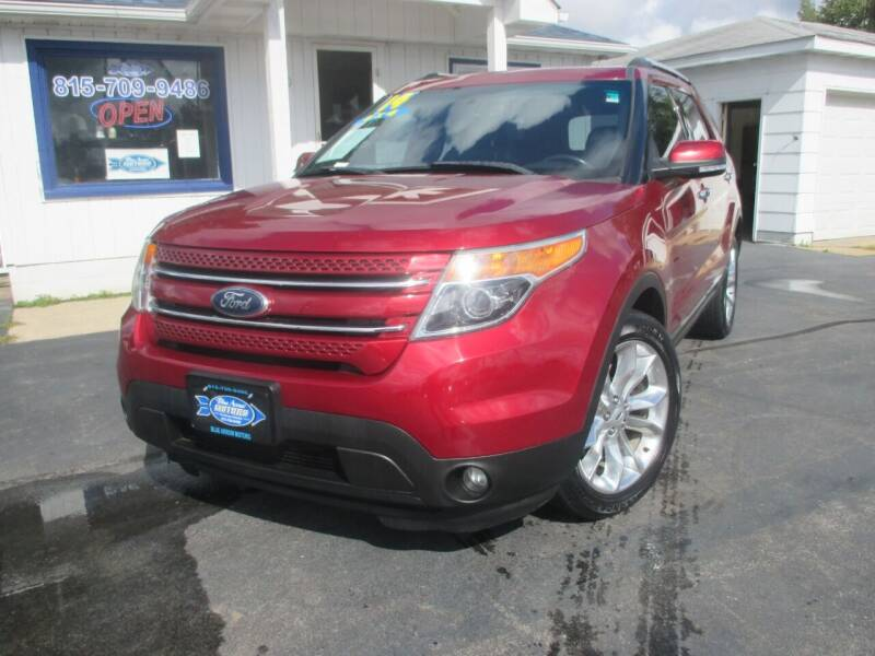 2014 Ford Explorer for sale at Blue Arrow Motors in Coal City IL