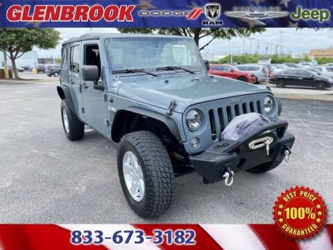 2015 Jeep Wrangler Unlimited for sale at Glenbrook Dodge Chrysler Jeep Ram and Fiat in Fort Wayne IN