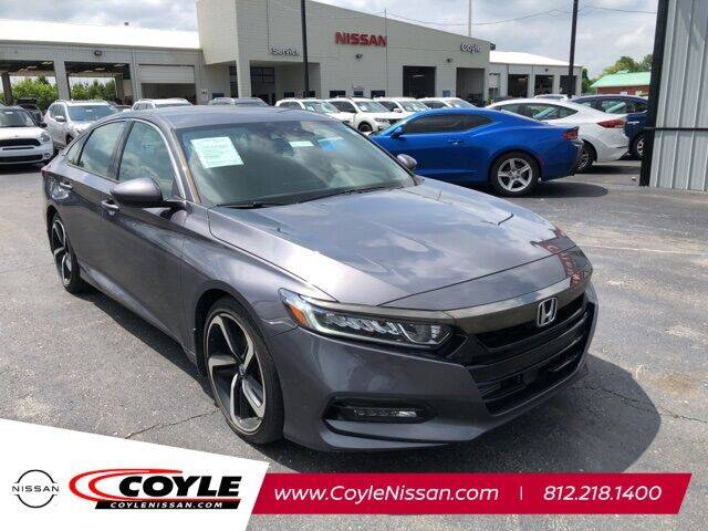 2018 Honda Accord for sale at COYLE GM - COYLE NISSAN - New Inventory in Clarksville IN