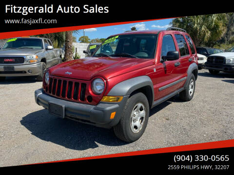 2007 Jeep Liberty for sale at Fitzgerald Auto Sales in Jacksonville FL