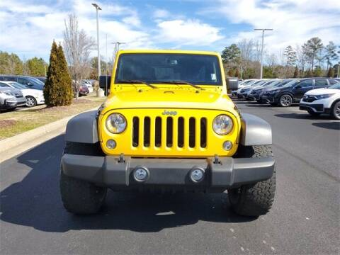 2015 Jeep Wrangler Unlimited for sale at Southern Auto Solutions - Lou Sobh Honda in Marietta GA