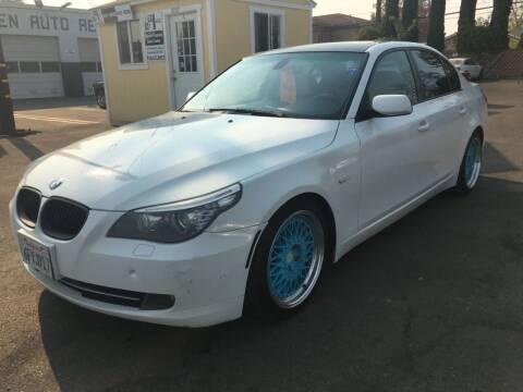 2008 BMW 5 Series for sale at Dealer Finance Auto Center LLC in Sacramento CA