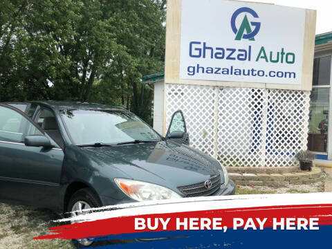 2004 Toyota Camry for sale at Ghazal Auto in Sturgis MI