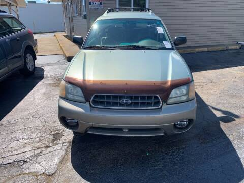 2003 Subaru Outback for sale at JORDAN AUTO SALES in Youngstown OH