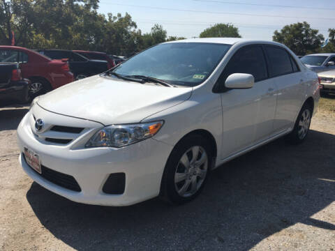 2012 Toyota Corolla for sale at Ody's Autos in Houston TX