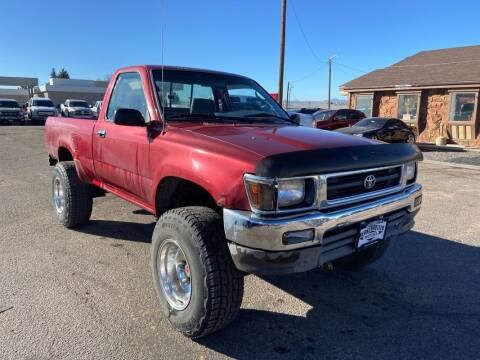 1993 Toyota Pickup for sale at BERKENKOTTER MOTORS in Brighton CO