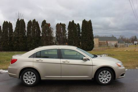 2014 Chrysler 200 for sale at D & B Auto Sales LLC in Washington Township MI