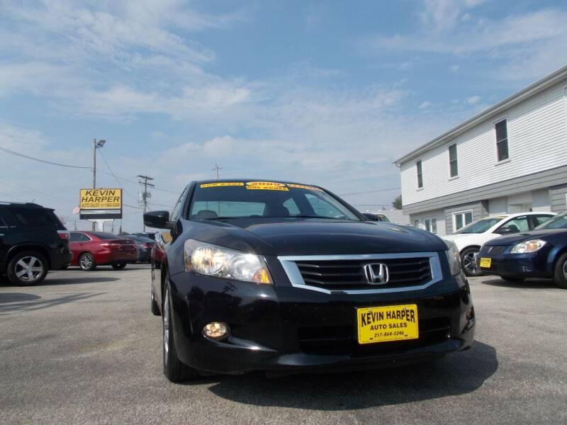 2009 Honda Accord for sale at Kevin Harper Auto Sales in Mount Zion IL