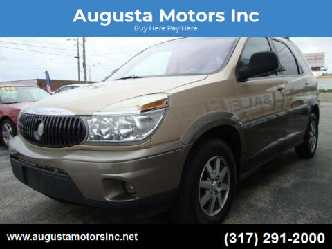 2004 Buick Rendezvous for sale at Augusta Motors Inc in Indianapolis IN