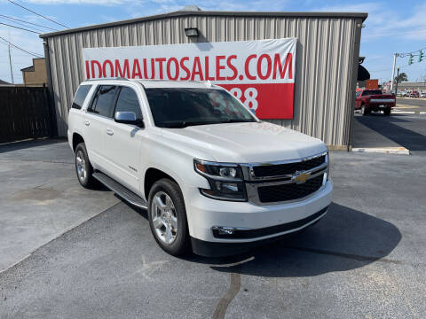 2016 Chevrolet Tahoe for sale at Auto Group South - Idom Auto Sales in Monroe LA