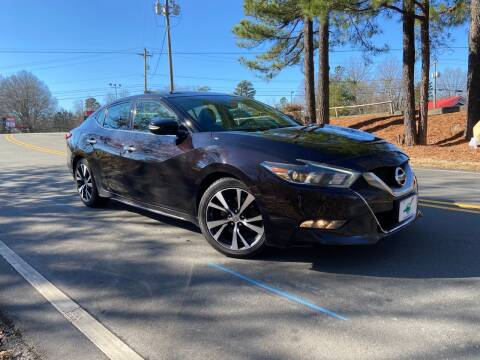 2017 Nissan Maxima for sale at THE AUTO FINDERS in Durham NC