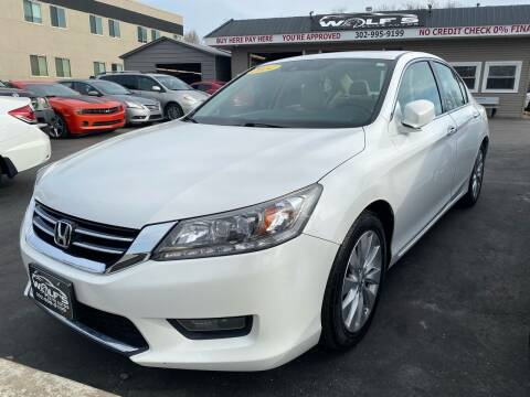 2014 Honda Accord for sale at WOLF'S ELITE AUTOS in Wilmington DE