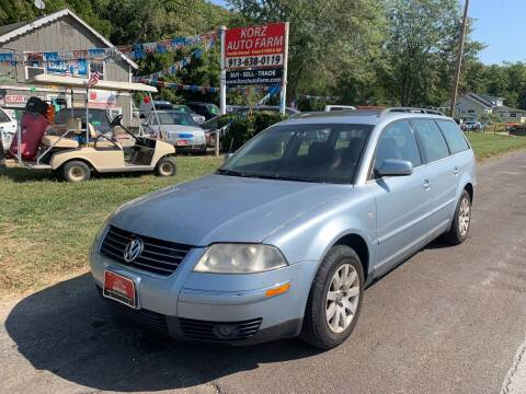 2003 Volkswagen Passat for sale at Korz Auto Farm in Kansas City KS