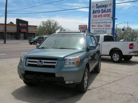 2006 Honda Pilot for sale at Springs Auto Sales in Colorado Springs CO