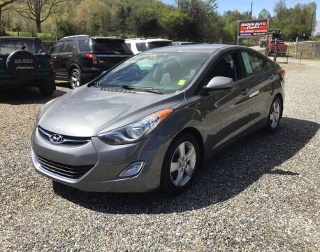 2013 Hyundai Elantra for sale at Arden Auto Outlet in Arden NC