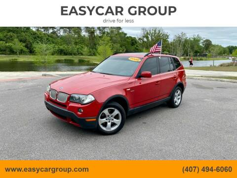 2008 BMW X3 for sale at EASYCAR GROUP in Orlando FL