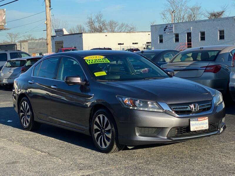 2015 Honda Accord Hybrid for sale at MetroWest Auto Sales in Worcester MA