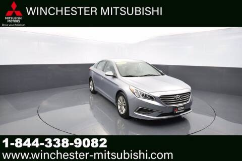 2016 Hyundai Sonata for sale at Winchester Mitsubishi in Winchester VA