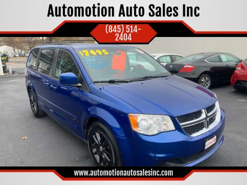 2013 Dodge Grand Caravan for sale at Automotion Auto Sales Inc in Kingston NY