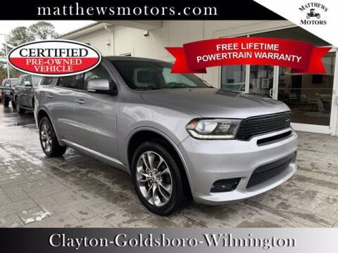 2020 Dodge Durango for sale at Auto Finance of Raleigh in Raleigh NC