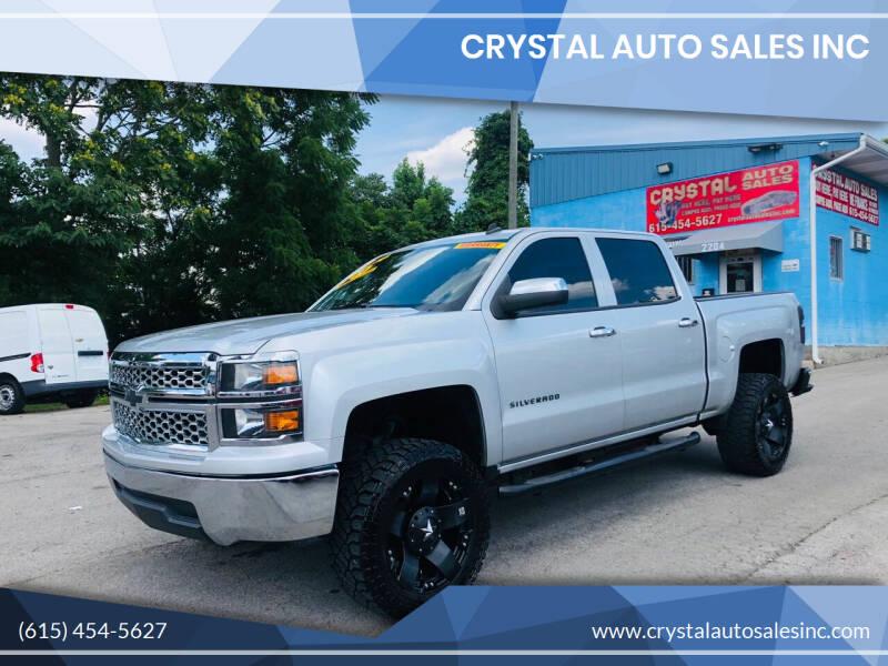 2014 Chevrolet Silverado 1500 for sale at Crystal Auto Sales Inc in Nashville TN