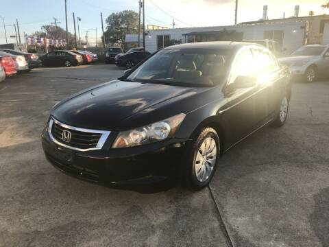 2009 Honda Accord for sale at AMERICAN AUTO COMPANY in Beaumont TX