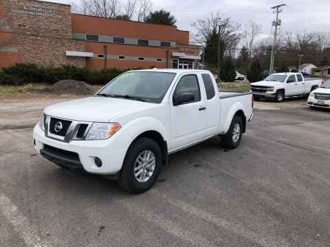 2018 Nissan Frontier for sale at DILLON LAKE MOTORS LLC in Zanesville OH
