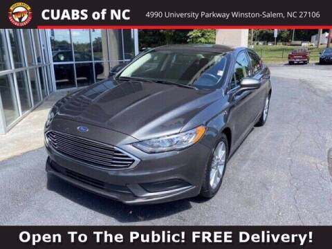 2017 Ford Fusion for sale at Summit Credit Union Auto Buying Service in Winston Salem NC