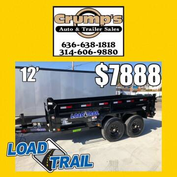 2021 Load Trail 12' Dump Trailer for sale at CRUMP'S AUTO & TRAILER SALES in Crystal City MO