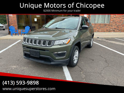 2018 Jeep Compass for sale at Unique Motors of Chicopee in Chicopee MA