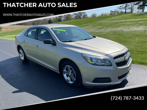 2013 Chevrolet Malibu for sale at THATCHER AUTO SALES in Export PA