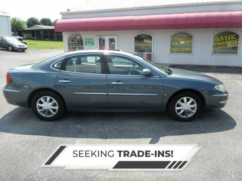 2006 Buick LaCrosse for sale at CARSON MOTORS in Cloverdale IN