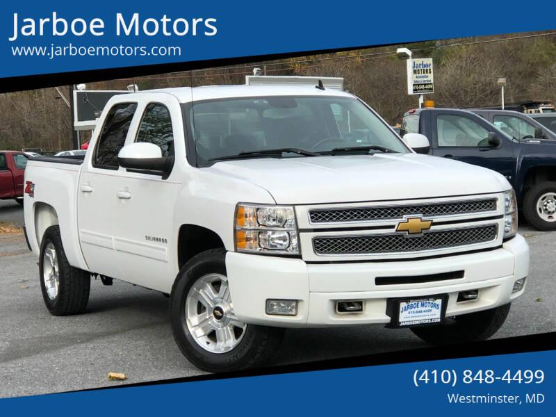 2013 Chevrolet Silverado 1500 4x4 LT 4dr Crew Cab 5.8 ft. SB - Westminster MD