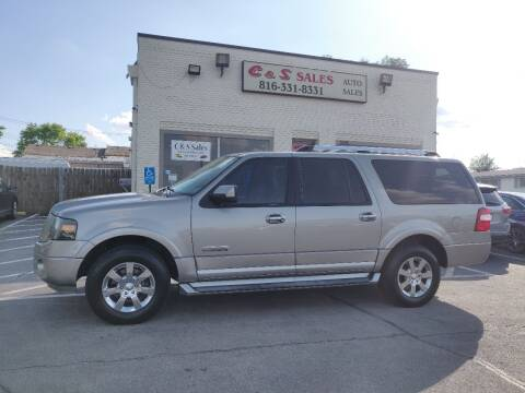 2008 Ford Expedition EL for sale at C & S SALES in Belton MO
